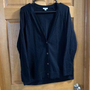 Black Gap Wool-blend Cardigan